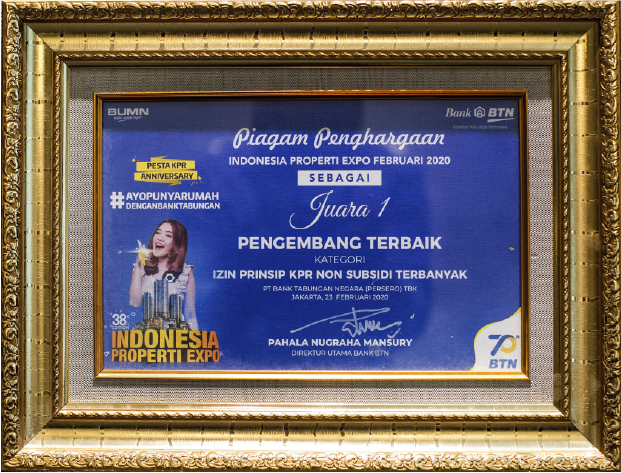 INDONESIA PROPERTY WATCH GOLDEN PROPERTY AWARDS 2017